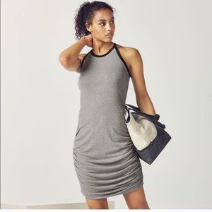 Fabletics Leilani Dress Gray Size Small Athleisure